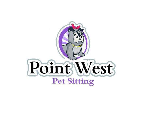 Kilpailutyö #689 kilpailussa Logo Design for Point West Pet Sitting