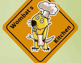 #40 for Restaurant Logo Design - drawing a wombat whos a chef! af unsoftmanbox