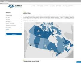 Nro 19 kilpailuun Create a Locations Map of Canada With 3 Points käyttäjältä moradiansasan