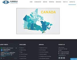 Nro 7 kilpailuun Create a Locations Map of Canada With 3 Points käyttäjältä DipeshPal