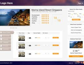 #16 cho Hotel booking website mockup bởi MrVoon