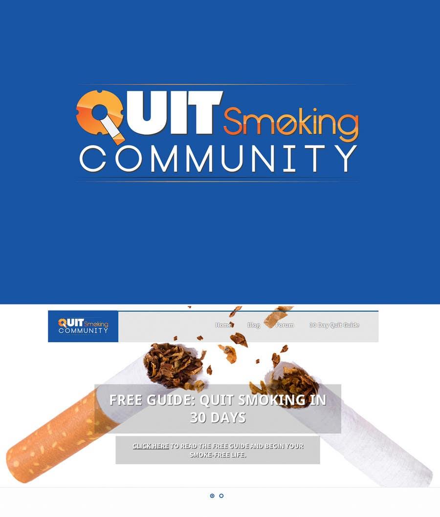 Konkurrenceindlæg #60 for Design a Logo for a Quit Smoking Website