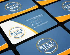 nº 3 pour Design Business Card and Logo for BlueStamp par rimskik