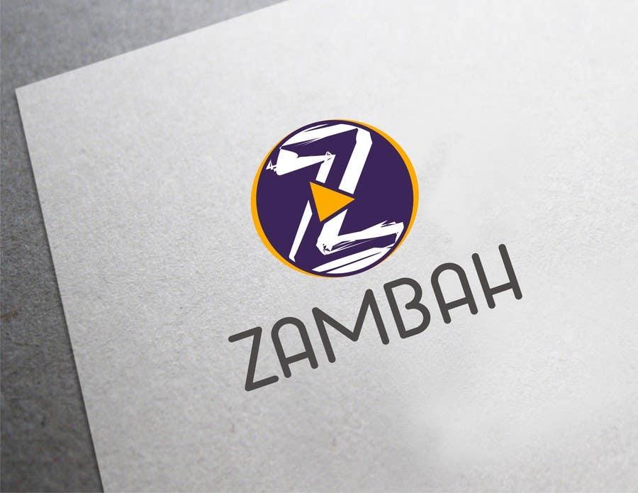 Kilpailutyö #64 kilpailussa Design a Logo for Zambah app