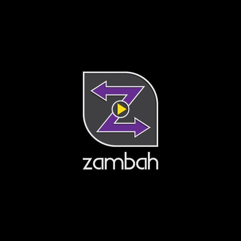 Kilpailutyö #26 kilpailussa Design a Logo for Zambah app