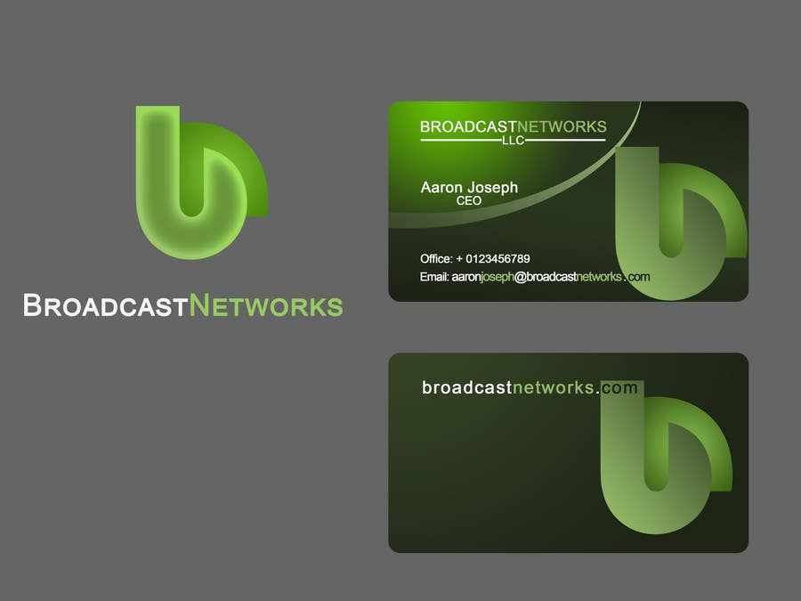 Kilpailutyö #121 kilpailussa Design a Logo for Broadcast Networks, LLC.