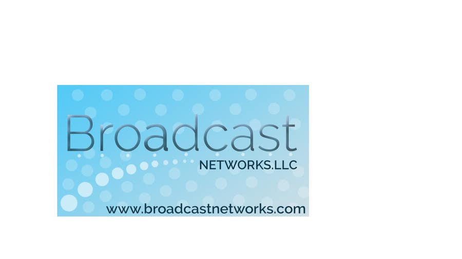 Kilpailutyö #106 kilpailussa Design a Logo for Broadcast Networks, LLC.
