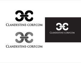 davidliyung tarafından Design a Logo for Clandestine-corp.com için no 24