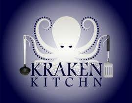 waqasalii tarafından Logo Design for Kraken Kitchen için no 15