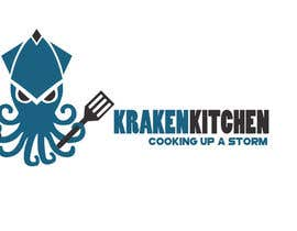 TheAnticipated tarafından Logo Design for Kraken Kitchen için no 25