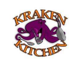 portasjm tarafından Logo Design for Kraken Kitchen için no 7
