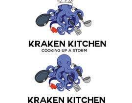 lucianoluci657 tarafından Logo Design for Kraken Kitchen için no 18