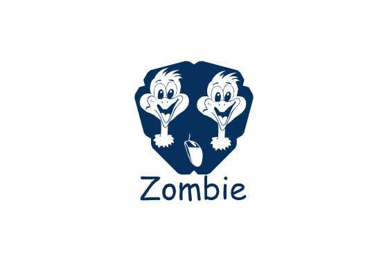 Inscrição nº 11 do Concurso para Design a Zombie Themed logo for a mousepad
