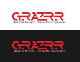 Nro 35 kilpailuun GRAZRR logo design project käyttäjältä DJMK