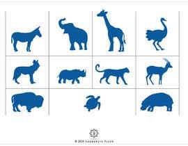 Nro 8 kilpailuun Design some Animal Icons käyttäjältä laurentiufilon