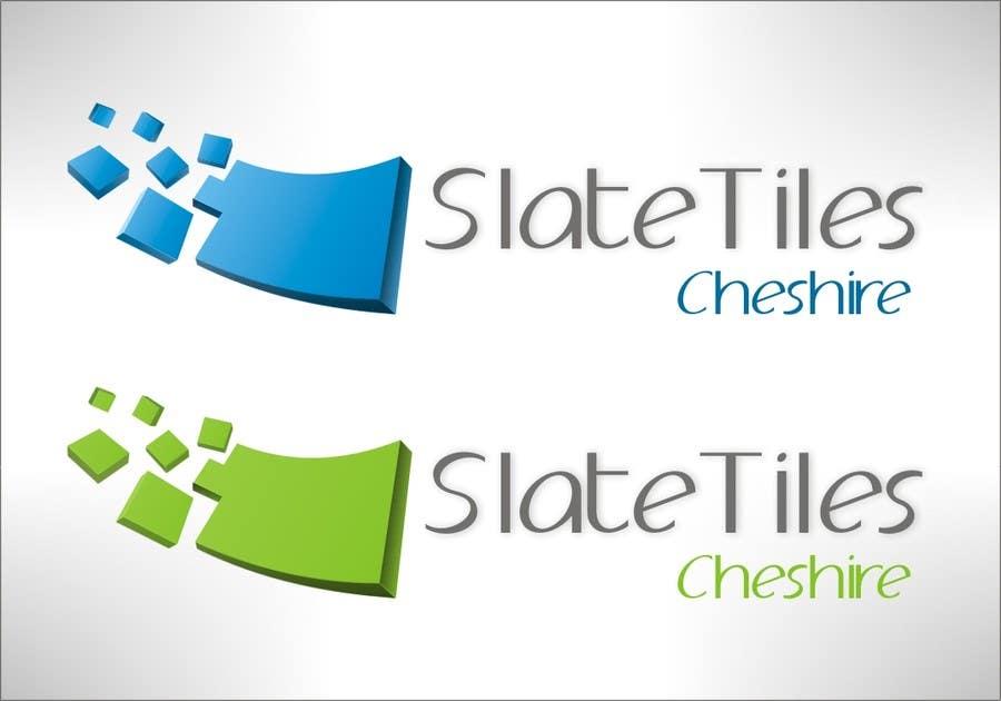 Penyertaan Peraduan #17 untuk Design a Logo for Slate Tiles Cheshire