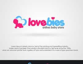 Nro 105 kilpailuun Design a Logo for Baby Store käyttäjältä adarshdk