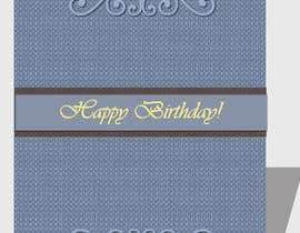 nº 13 pour Design some Stationery for Adult Birthday card par luciacrin