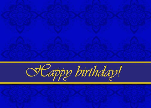 #14 for Design some Stationery for Adult Birthday card by luciacrin