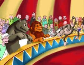 #16 for Illustration Design for Childrens Book - Circus Scene af antoniopiedade