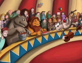 #20 untuk Illustration Design for Childrens Book - Circus Scene oleh antoniopiedade