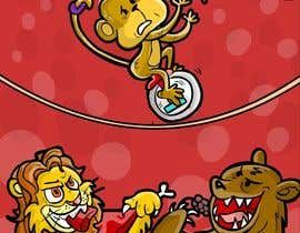 #4 untuk Illustration Design for Childrens Book - Circus Scene oleh jacklooser