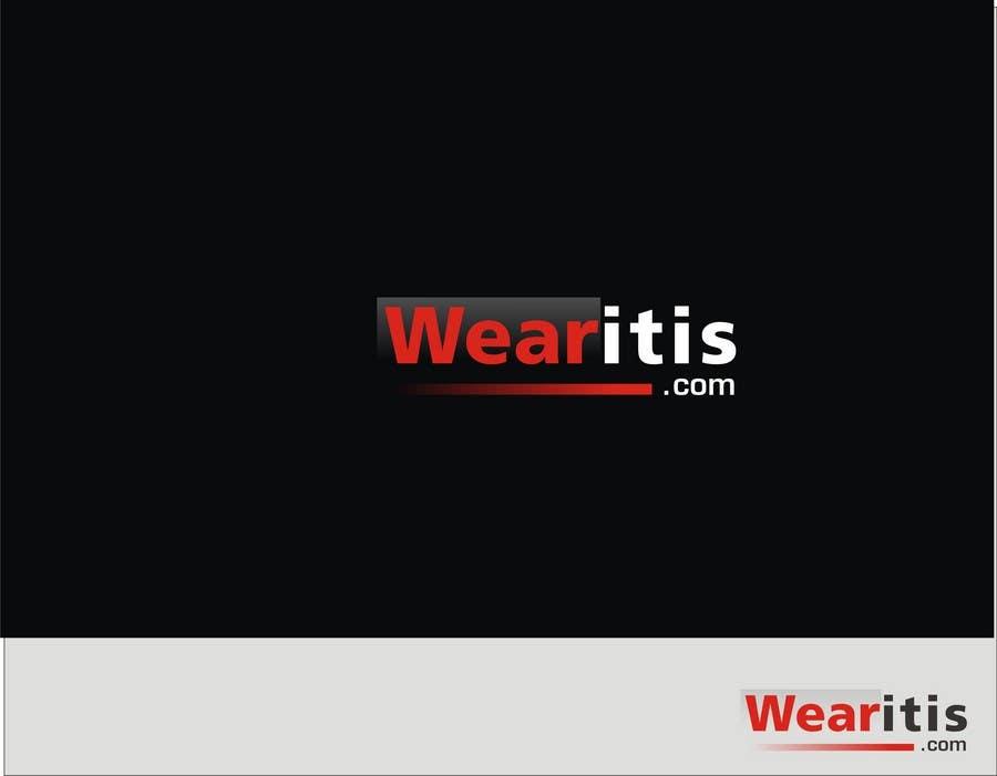 Inscrição nº 221 do Concurso para Logo Design for www.wearitis.com