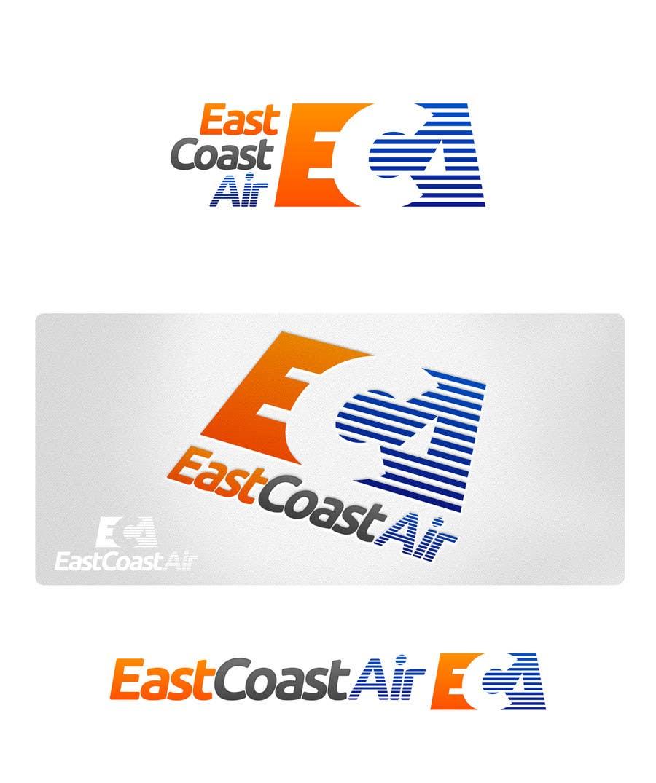 Kilpailutyö #402 kilpailussa Design a Logo for East Coast Air conditioning & refrigeratiom