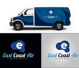 Graphic Design Kilpailutyö #542 kilpailuun Design a Logo for East Coast Air conditioning & refrigeratiom