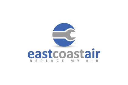 #744 for Design a Logo for East Coast Air conditioning & refrigeratiom by sagorak47