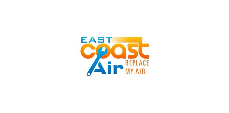 #673 for Design a Logo for East Coast Air conditioning & refrigeratiom by trying2w