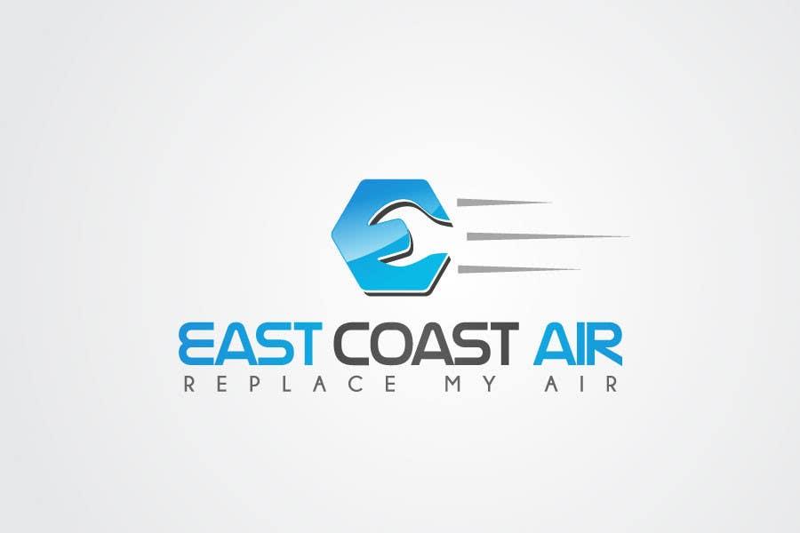 #653 for Design a Logo for East Coast Air conditioning & refrigeratiom by sproggha