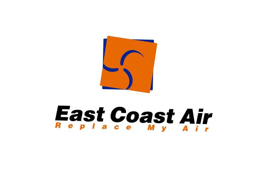 Kilpailutyö #625 kilpailussa Design a Logo for East Coast Air conditioning & refrigeratiom