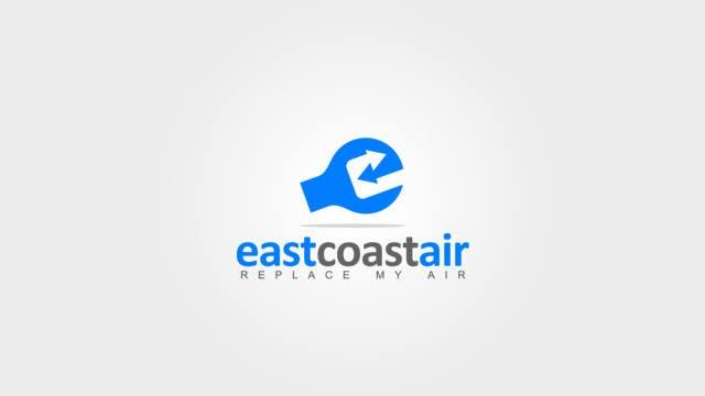 #615 for Design a Logo for East Coast Air conditioning & refrigeratiom by FreeLander01