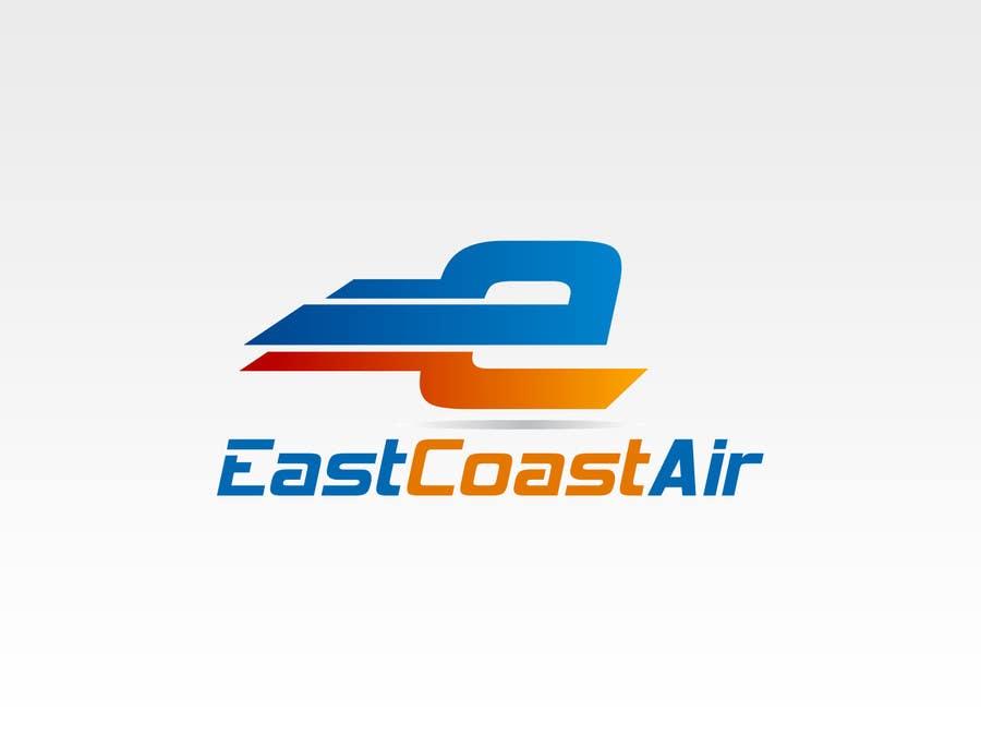 Kilpailutyö #372 kilpailussa Design a Logo for East Coast Air conditioning & refrigeratiom