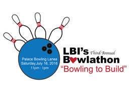 Nro 15 kilpailuun Design a Logo for a Bowlathon käyttäjältä Jplane