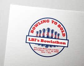 Nro 12 kilpailuun Design a Logo for a Bowlathon käyttäjältä aniktheda