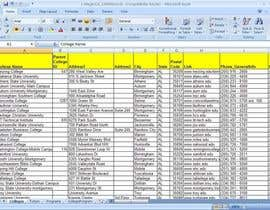#9 for Fill in a Spreadsheet with Data for Social Media Pages af GurpreetSngh220