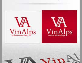 #118 for Logo Design for VinAlps af totovas
