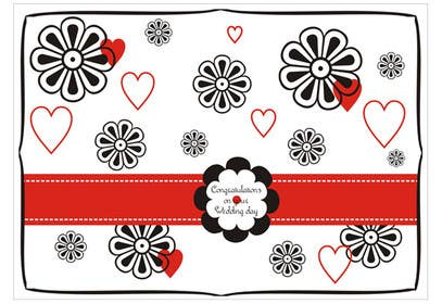 #27 for Design some Stationery for a Wedding Congratulations Card by primavaradin07