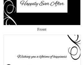 #37 para Design some Stationery for a Wedding Congratulations Card por LLInnovations