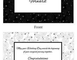 #38 para Design some Stationery for a Wedding Congratulations Card por LLInnovations