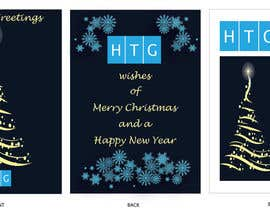 nº 25 pour Design HTG's Corporate Christmas Card par veenaldsilva