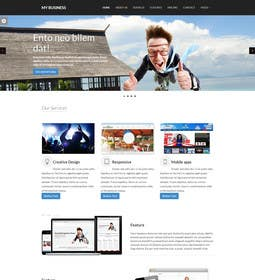 #10 for Design of one HTML page based on Bootstrap 3 by bbeckshrestha