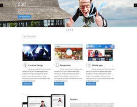 nº 10 pour Design of one HTML page based on Bootstrap 3 par bbeckshrestha