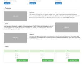 nº 2 pour Design of one HTML page based on Bootstrap 3 par XisPy
