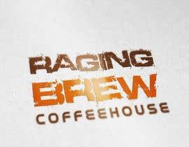 Nro 32 kilpailuun Design a Logo for Raging Brew Coffeehouse käyttäjältä LogoRocket