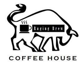 Nro 12 kilpailuun Design a Logo for Raging Brew Coffeehouse käyttäjältä vndsrt