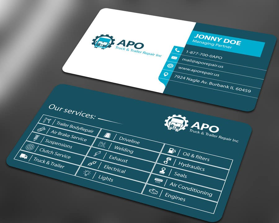 Entry #9 by ALLHAJJ17 for Design a Logo and Business Cards for ...