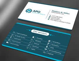 Nro 12 kilpailuun Design a Logo and Business Cards for Truck & Trailer Repair Company käyttäjältä ALLHAJJ17